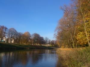Die Elbe fließt gemütlich