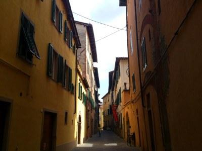 Die Altstadtgassen von Lucca haben einen besonderen Charme
